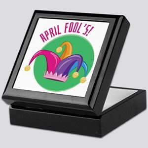 April Fools Keepsake Box