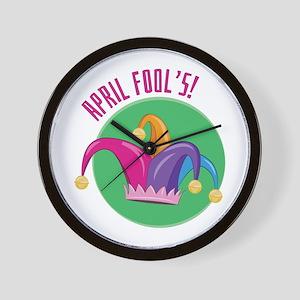 April Fools Wall Clock