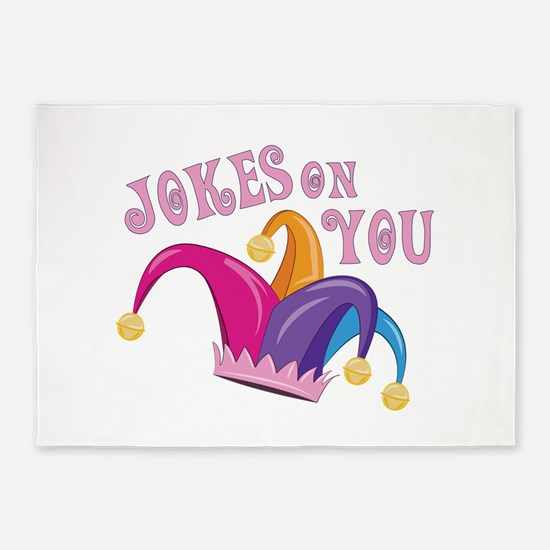 Jokes On You 5'x7'Area Rug