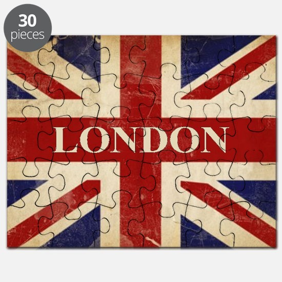 Unique British union jack Puzzle
