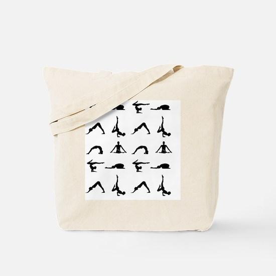 Cute Exercises Tote Bag