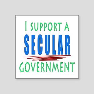 Secular Government Sticker
