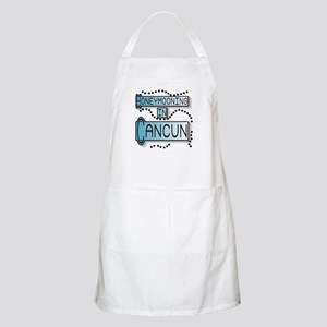 Blue Honeymoon Cancun BBQ Apron