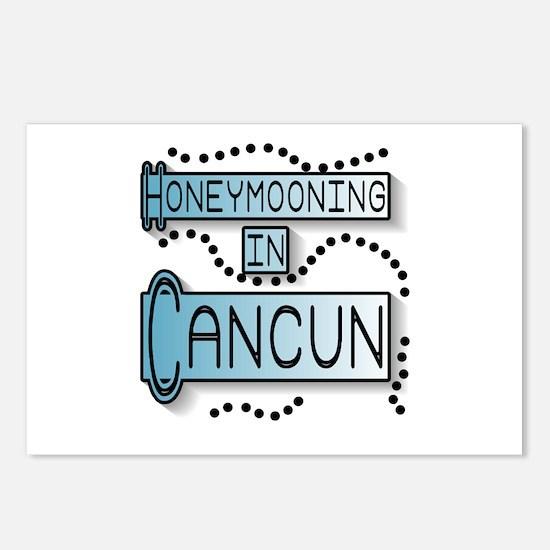 Blue Honeymoon Cancun Postcards (Package of 8)