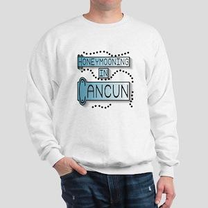 Blue Honeymoon Cancun Sweatshirt