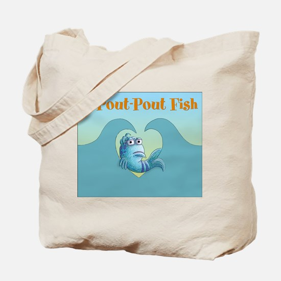 Pout-Pout Fish Tote Bag