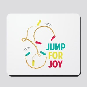 Jump For Joy Mousepad