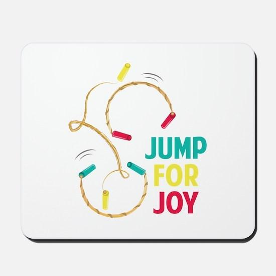Jump For Joy Mousepad