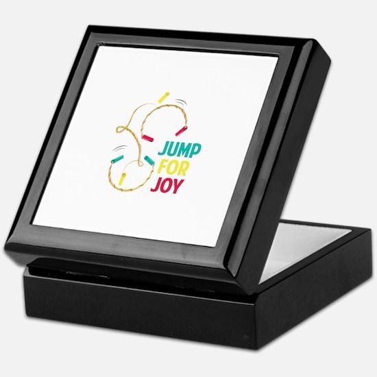 Jump For Joy Keepsake Box