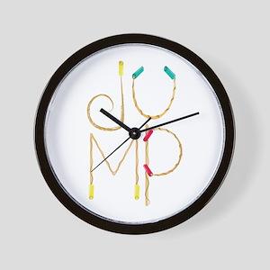 Jump Ropes Wall Clock