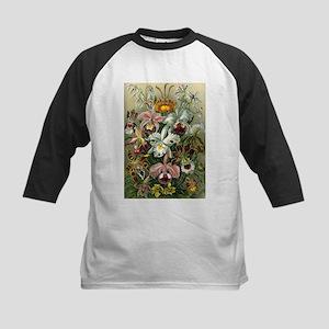 Vintage Orchid Floral Baseball Jersey