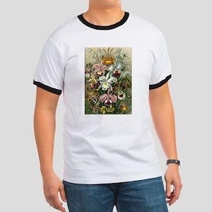 Vintage Orchid Floral T-Shirt