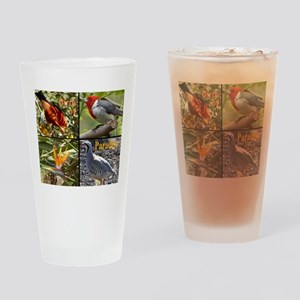 Birds of Paradise Drinking Glass