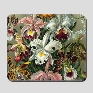 Vintage Orchid Floral Mousepad