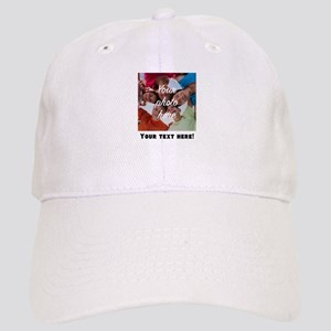 Your Photo And Text Baseball Cap