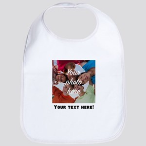 Your Photo And Text Bib