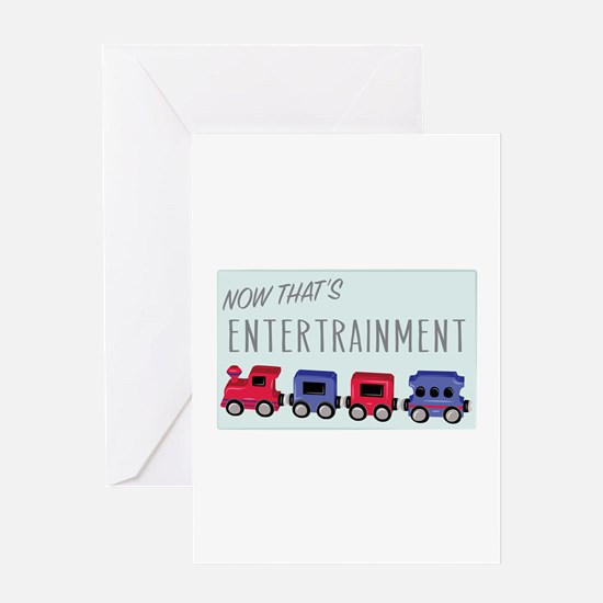 Thats Entertainment Greeting Cards