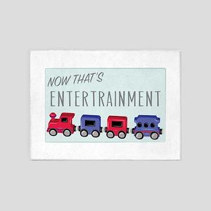 Thats Entertainment 5'x7'Area Rug