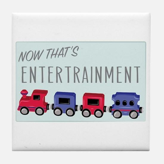 Thats Entertainment Tile Coaster