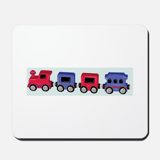 Toy Train Mousepad
