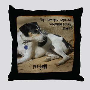 Smelled Something (Or) Throw Pillow