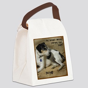 Smelled Something (Or) Canvas Lunch Bag