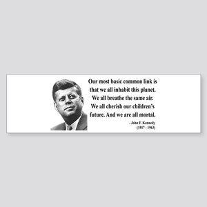 John F. Kennedy 1 Bumper Sticker