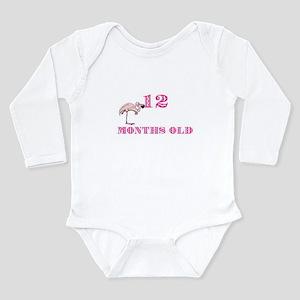 12 months old flamingo Infant Bodysuit Body Suit