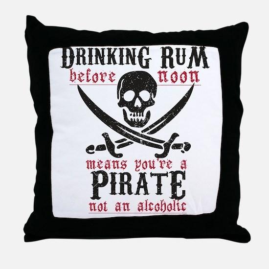 Cute Pirate Throw Pillow