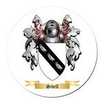 Sivell Round Car Magnet