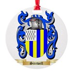 Sirewell Round Ornament