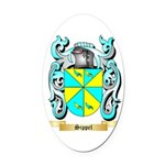 Sippel Oval Car Magnet