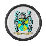 Sippel Large Wall Clock