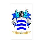 Sint Sticker (Rectangle 50 pk)