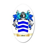 Sint 35x21 Oval Wall Decal