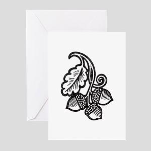 """Acorns & Tall Oaks"" Greeting Cards (Pk of 20)"