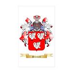 Sinnott Sticker (Rectangle 50 pk)