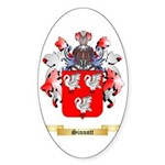 Sinnott Sticker (Oval 10 pk)