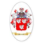 Sinnott Sticker (Oval 50 pk)