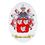 Sinnott Oval Ornament