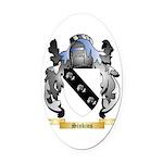 Sinkins Oval Car Magnet