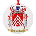 Singleton Round Ornament