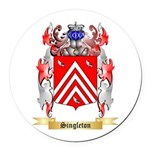 Singleton Round Car Magnet