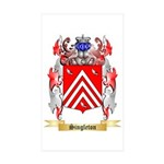 Singleton Sticker (Rectangle 50 pk)