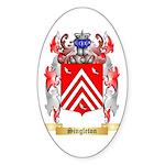 Singleton Sticker (Oval)