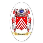 Singleton Sticker (Oval 50 pk)