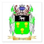 Singer Square Car Magnet 3