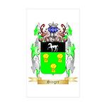 Singer Sticker (Rectangle 50 pk)