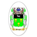 Singer Sticker (Oval 10 pk)