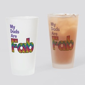 My Dads are Fab Drinking Glass